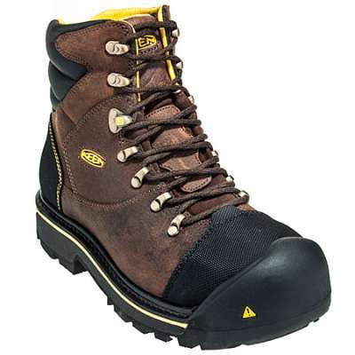 KEEN Milwaukee Soft Toe Leather Boot #1007977